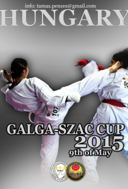 4th Galga-SZAC Cup International Karate Championships